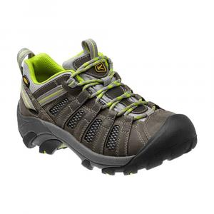 Keen Women's Voyageur Low Hiking Shoes, Grey/lime - Size 9.5