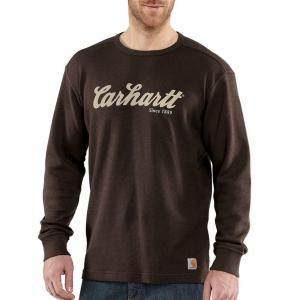 Carhartt Men's Textured Knit Script Graphic Shirt