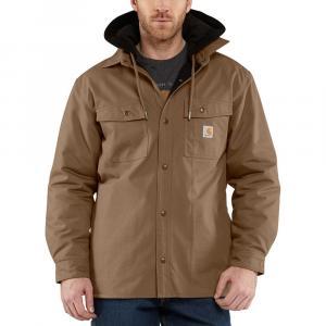 Carhartt Men's Quick Duck Roane Hooded Shirt Jac