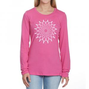Columbia Women's Tested Tough In Pink Medallion Long-Sleeve Tee - Size M