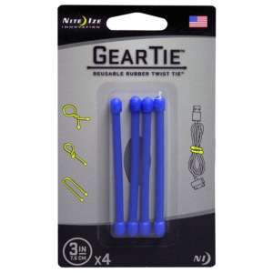 photo: Nite Ize Gear Tie tent accessory