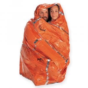 photo: SOL Survival Blanket emergency shelter