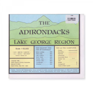 Adirondack Maps Lake George Region Map
