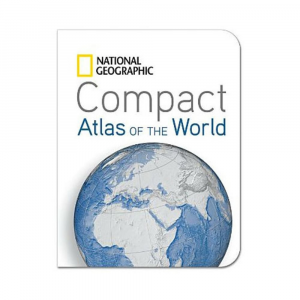 photo: National Geographic Compact Atlas of the World international paper map