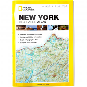 photo: National Geographic New York Recreation Atlas us northeast guidebook