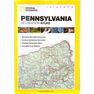 photo: National Geographic Pennsylvania Recreation Atlas us northeast guidebook