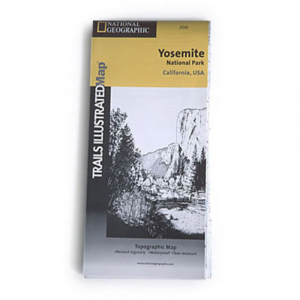 National Geographic Yosemite National Park Map