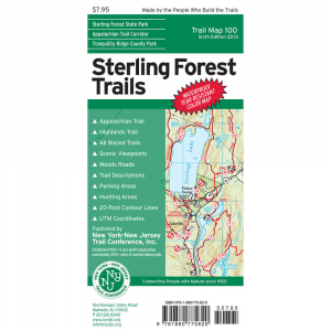 Ny Nj Trail Conference Sterling Forest Trails Map