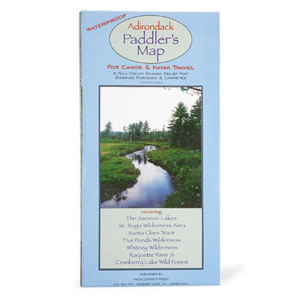 Adirondack Paddler Map
