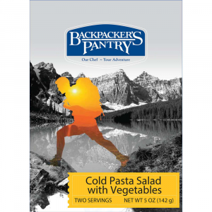 Image of Backpacker's Pantry Cold Pasta Salad With Vegetables