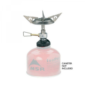 msr superfly stove with autostart- Save 25% Off - An ultralight and compact canister-fuel stove. Fits most self-sealing butane canisters (Camping Gaz and Primus). Auto Start igniter allows push-button starting. Complete flame adjustability, down to a gentle simmer or up to a roaring boil. Serrated pot supports prevent pots from slipping. Wind-resistant burner provides stable flame. Important note: Due to Department of Transportation restrictions, we are not allowed to ship pressurized fuel cannisters. Fuel may still be purchased at our retail locations. We apologize for the inconvenience..