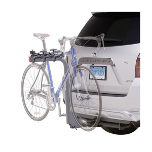 sportrack sr2703 3 bike lock and tilt hitch rack- Save 25% Off - Designed to tilt down for easy vehicle access, this lockable SportRack securely holds 3 bikes.This product will be shipped directly from SportRack and will leave their warehouse in 2-3 business days. Eligible for UPS ground shipping only. . No-Wobble hitch pin attaches the rack to hitch receiver for a stable hold. Rotating clamps with rubber padding holds the bike securely. Tilts down for rear vehicle access. Includes locks to secure the bike to the rack and rack to the vehicle. Fits 1 1/4 in. and 2 in. receivers. Can accommodate oversized top tubes (2 1/2 in. or less). Holds up to 4 bikes. Max weight of 180 lb. / 90 kg.