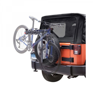 sportrack sr2813 3 bike spare tire rack- Save 20% Off - Attachable to the spare tire for easy transport, this SportRack carries up to 3 bikes.This product will be shipped directly from SportRack and will leave their warehouse in 2-3 business days. Eligible for UPS ground shipping only. . Rotating clamps with rubber padding holds the bike securely. Includes locks to secure the bike to the rack and rack to the vehicle. Can accommodate oversized top tubes (2 1/2 in. or less). Holds up to 3 bikes. Max weight of 132 lb. / 60 kg.