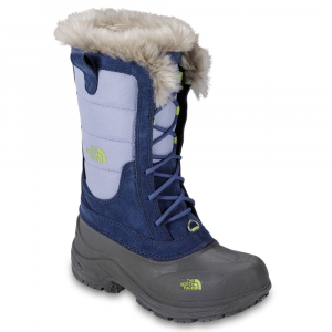 The North Face Girls' Shellista Lace Winter Boots, Blue