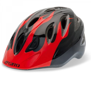 giro kids' rascal bike helmet- Save 30% Off - Kids don't think twice about fit systems and tech specs, they just want to go ride! The Giro Rascal's new OneStep fit system provides a simple and intuitive method to quickly send little riders on their way.. . One-Step Fit System is simply the fastest and most intuitive way to properly fit a childs helmet. Simply close the pinch-free buckle, and theyre ready to go. For added visibility, parents can click on the integrated rear LED taillight. In-mold EPS liner for great structural integrity. 12 vents to keep little heads cool. Built in visor. Universal size, fits 19.75 - 21.5 in..