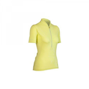 icebreaker women's rhythm bike jersey, s/s- Save 42% Off - Designed for cycling, Icebreaker's Rhythm Bike Jersey is made from breathable, moisture-managing merino and stretch Lycra to keep your ride comfortable. . Icebreaker GT 200 merino fabric with stretch Lycra for mobility, a perfect fit, and faster drying time-ideal for technical sports. Supersoft, highly breathable merino fibers regulate temperature, prevent overheating, and manage moisture to keep you dry and comfortable. Naturally odor resistant to keep you feeling fresh. Zip-neck collar for ventilation when you heat up. Set-in short sleeves. Gripper elastic hem to keep it from riding up. Reflective piping at back for safety in low-light conditions. Rear cargo pockets stash small items.