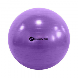Image of 65Cm Yoga Ball & Pump In Purple