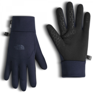 the north face men's etip fleece gloves- Save 50% Off - Treat yourself to a pair of The North Face Etip Gloves for five-finger touchscreen operation. Stretch fleece provides lightweight warmth when there's a chill in the air. Etip functionality works with touchscreen devices. U|R Powered conductive technology for five-finger touch-screen operation. Four-way-stretch fleece fabric. Silicone gripper palm pattern provides superior grip. 5 Dimensional Fit ensures consistent sizing. Radiametric Articulation keeps hands in their natural relaxed position.