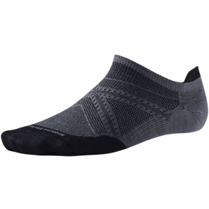smartwool men's phd run ultra light micro socks- Save 25% Off - Smartly built for runners, PhD Run Ultra Light Micro Socks deliver SmartWool's 4 Degree elite fit system, ReliaWool durability, a virtually seamless toe, and mesh ventilation zones. Ultralight cushion: minimal cushioning for maximum next-to-foot performance without added bulk. Overall height: 1.5 in.. Blend of merino wool, nylon, and elastane. SmartWool delivers soft, itch-free comfort, even foot temperature, moisture management, and odor control. 4 Degree elite fit system uses two elastics for greater stretch and recovery to keep the sock in place and improve fit. Fit bands wrap and support the foot for more comfort, faster flex and recovery. ReliaWool technology in high-impact areas provides longer-lasting protection to keep feet comfortable. Mesh ventilation zones designed specifically for female runners provide optimal temperature regulation and moisture management. Virtually seamless toe. Achilles tab. 200-needle construction provides highest-knit density, while maintaining ultralight weight. Knit in the USA of imported yarn. Machine wash warm, inside out, gentle cycle; tumble dry low or lay flat