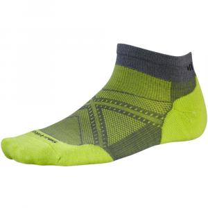 smartwool men's phd run light elite low-cut socks- Save 25% Off - Designed for runners, PhD Run Light Elite Low-Cut Socks feature targeted cushioning for impact protection on the ball and heel of the foot, where runners need it most. Mesh ventilation zones, a seamless toe, and 4 Degree elite fit system boost comfort and performance. Light elite cushioning designed specifically for runners: Provides maximum impact protection with targeted cushioning on the ball and heel of the foot. Overall height: 2.25 in.. Blend of merino wool, nylon, and elastane. SmartWool delivers soft, itch-free comfort, even foot temperature, moisture management, and odor control. 4 Degree elite fit system uses two elastics for greater stretch and recovery to keep the sock in place and improve fit. Fit bands wrap and support the foot for more comfort, faster flex and recovery. ReliaWool technology in high-impact areas provides longer-lasting protection to keep feet comfortable. Mesh ventilation zones designed specifically for male runners provide optimal temperature regulation and moisture management. Virtually seamless toe. 200-needle construction provides highest-knit density, while maintaining ultralight weight. Knit in the USA of imported yarn. Machine wash warm, inside out, gentle cycle; tumble dry low or lay flat