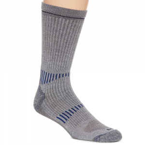 Ems Men's Fast Mountain Lightweight Coolmax Crew Socks, Grey