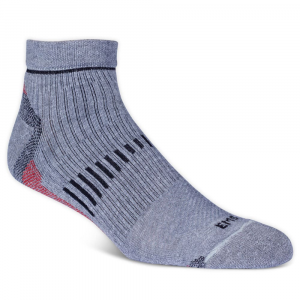 Ems Mens Fast Mountain Lightweight Coolmax Quarter Socks Grey