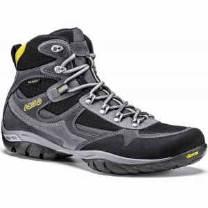 Asolo Men's Reston Waterproof Hiking Boots, Graphite/black