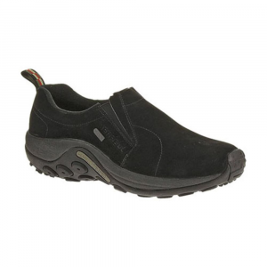 Merrell Men's Jungle Moc Waterproof Shoes, Black