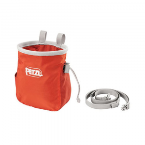 Petzl Saka Chalk Bag, Coral