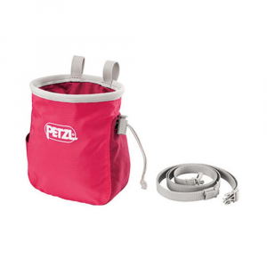 Petzl Saka Chalk Bag, Raspberry