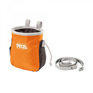 Petzl Saka Chalk Bag, Orange