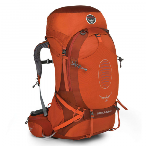 Osprey Atmos Ag 65 Backpack, Cinnabar Red
