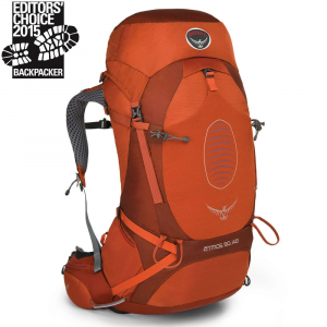 Osprey Atmos Ag 50 Backpack Cinnabar Red