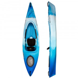perception sunrise 100 kayak- Save 22% Off - Perfect for entry-level paddlers, the Perception Sunrise 100 Kayak provides worry-free manageability and easy handling to make it an ideal choice for children or smaller adults looking to paddle calm water. Padded seat with adjustable backrest offers comfort and support. Keepers foot brace system allows for quick and easy adjustment of leg length. Bungee deck rigging is perfect for holding a small dry bag. Thigh/knee padding ensures that you stay comfortable no matter how long youre on the water. Perfect fit for kids or small-frame paddlers.