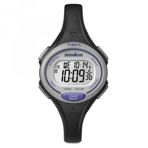 Timex Ironman Essential 30 Lap Mid Size Watch, Black