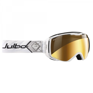 Julbo Universe Snow Goggles With Zebra Lens, White/black