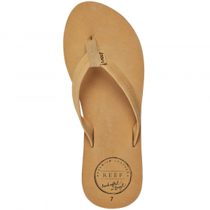 reef women's chill leather sandals- Save 30% Off - The classic style from the classic brand. These sandals are stylish and comfortable enough to wear anywhere.  Handmade leather from Brazil.  Nubuck leather strap with webbing toe post.  Nubuck leather footbed provides arch support.  Rubber outsole.  Imported . . .