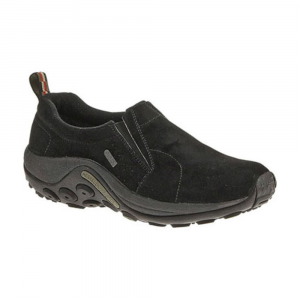 Merrell Women's Jungle Moc Waterproof Shoes, Black