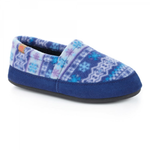 Acorn Women's Moc Slippers, Icelandic Blue