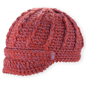 pistil women's clara hat- Save 50% Off - The sweet Clara from Pistil combines supersoft acrylic with cotton accents for cozy warmth, while the chunky hand-knit texture hints at sassy style. . Hand-knit acrylic beanie with chunky texture and a short brim. Supersoft, warm, and itch-free. Knit band across the brow. Shiny, color-matched accent button at each end of the knit band. Contrast thread detail. Fits close to the head