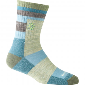 Darn Tough Women's Light Hiker Aztec Micro Crew Light Cushion Socks