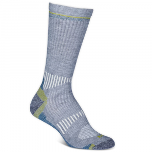 Ems Women's Fast Mountain Lightweight Coolmax Crew Socks, Grey