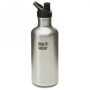 Klean Kanteen Stainless Steel Sport Cap Bottle, 40 Oz.