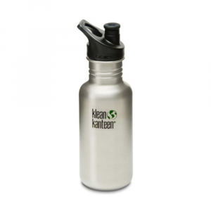 Klean Kanteen Stainless Steel Sport Cap Bottle, 18 Oz.