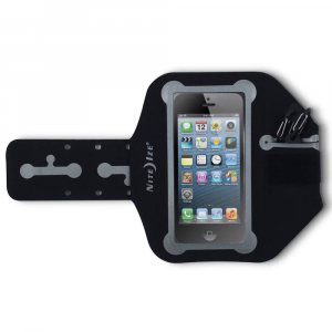 nite ize action arm band, large- Save 69% Off - A durable, flexible, and sleek way to stay connected while hiking, running, or biking, the Nite Ize Action Arm Band keeps your phone or iPod touch safe without compromising visibility or functionality. . Flexible, seamless design stays comfortable during any activity. Non-absorbent microfiber construction repels moisture and is backed with two narrow gripper strips to prevent slipping. Large size fits iPhone 5, iPod touch 5th generation, and similar-sized Android devices. Clear TPU main pocket provides full access to your device. Secure rear pocket holds your ID, cash, or credit card. Included Curvyman Cord Supervisor organizes, shortens, and keeps your cord tangle-free. Includes an S-Biner clip for easy access to your car or house key. Reflective details offer enhanced visibility in lowlight conditions. Easily adjusts to fit arms from 10.5 in. to 16 in.