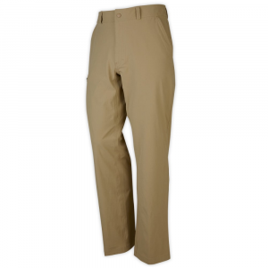 ems men's compass pants  - size 30- Save 30% Off - Navigate the trail or cityscape in these lightweight, water-repellent, and quick-drying pants. They adapt to your adventures with stretch mobility, sun protection, and travel-savvy pockets.  Lightweight nylon and stretch spandex fabric.  Quick-drying, abrasion- and wrinkle-resistant fabric with a DWR (durable water repellent) finish to shed light moisture and resists stains.  4-way stretch allows freedom of movement.  UPF 50 for maximum protection from harmful UV rays.  Crotch gusset for comfort and mobility.  Zipper and snap front closure; belt loops.  Interior waistband lined with moisture-wicking, quick-drying mesh for comfort.  Deep front hand pockets with lightweight mesh linings.  Right side thigh pocket with zip closure.  Two back pockets: one with hook-and-loop closure, one with zip closure; lightweight mesh linings.  Inseam: 32 in..  Straight legs.  Imported.