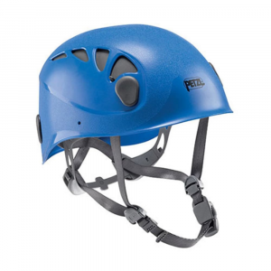 petzl elios climbing helmet- Save 25% Off - The lightweight, durable Petzl Elios is a low-profile helmet that's easy to adjust, comfortable, and super versatile to adapt to climbing, mountaineering, caving, canyoning, or via ferrate.  Adaptable to all head shapes/sizes; headband and height adjust to achieve precise and comfortable positioning.  Chinstrap buckle is easily adjustable and positioned off to the side away from your chin.  ABS shell provides lightweight durability while the EPS foam liner absorbs impacts.  Narrow, adjustable polyester webbing straps offer improved comfort.  Four optimally placed clips hold a headlamp securely in place.  Sliding ventilation slots adapt to different weather conditions; open for ventilation, close when it is cold.  Headband adjustment folds into the shell for compact storage and easy packing.  Compatible with Petzl VIZION face shield.  Size 1 fits 48-56 cm head circumference; weighs 10.5 oz..  Size 2 fits 53-61 cm head circumference; weighs 11.5 oz..