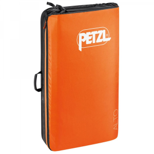 petzl alto crash pad- Save 25% Off - The specially designed Petzl Alto Crashpad provides optimal protection for bouldering falls. Its revolutionary folding system lengthens the life of the foam, and creates a storage space when the crashpad is closed.  Unfolded dimensions: 118 x 100 x 10 cm.  Folded dimensions: 65 x 100 x 25 cm.  Weight: 5700 g.  Material(s): high-strength Cordura ballistic fabric, YKK nAdeg10 zipper, triple-layer polyethylene (PE) and polyurethane (PU) foam.