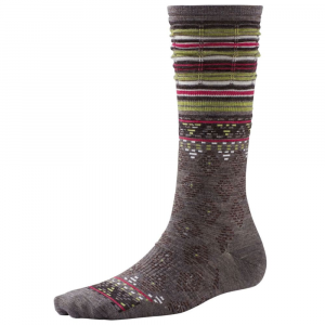 Past Season Smartwool Womens Rocking Rhombus Mid Calf Socks