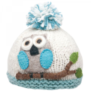 Ambler Apparel Girls Owl Hat
